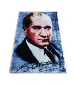 Atatürk Halı Portresi 50 x 70 cm. No:24