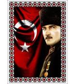 Atatürk Halı Portresi 50 x 70 cm. No:10