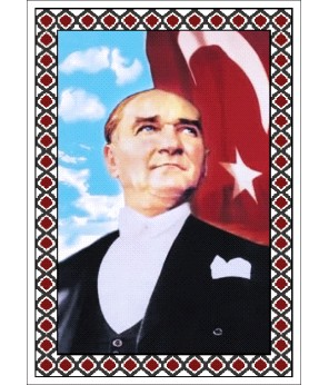 Atatürk Halı Portresi 50 x 70 cm. No:11