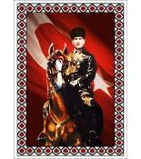 Atatürk Halı Portresi 50 x 70 cm. No:12