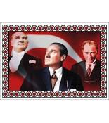 Atatürk Halı Portresi 50 x 70 cm. No:16