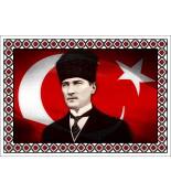 Atatürk Halı Portresi 50 x 70 cm. No:17