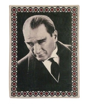 Atatürk Halı Portresi 50 x 70 cm. No:3