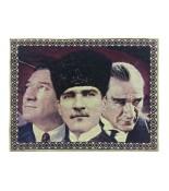 Atatürk Halı Portresi 50 x 70 cm. No:5