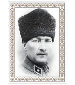 Atatürk Halı Portresi 70 x 90 cm. No:6