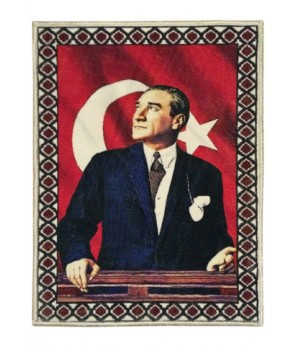 Atatürk Halı Portresi 70 x 90 cm. No:7
