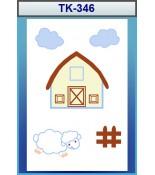 Çocuk Odası Halısı No:TK-346