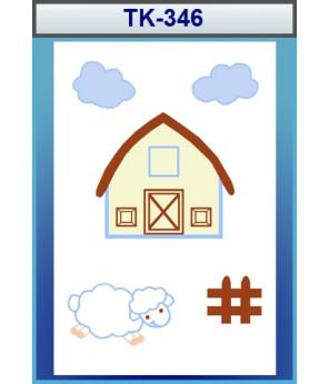 Çocuk Odası Halısı No:TK-346 (tk-346)