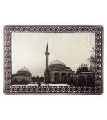 Veysel Karani Cami Halı Dokuma Portresi 50 x 70 cm. No:1