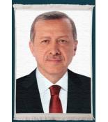 Recep Tayyip Erdoğan Duvar Kilimi No: 3