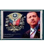 Recep Tayyip Erdoğan Duvar Kilimi No: 4
