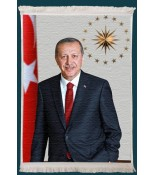 Recep Tayyip Erdoğan Duvar Kilimi No: 5