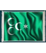 Osmanlı Bayrağı Duvar Kilimi