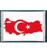 Türkiye Haritası Duvar Kilimi No: 1