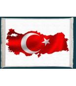 Türkiye Haritası Duvar Kilimi No: 2