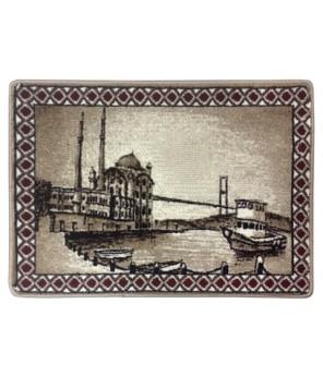 İstanbul Manzara Halı Portresi 50 x 70 cm. No:1