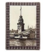 Kız Kulesi Halı Portresi 50 x 70 cm. No:1