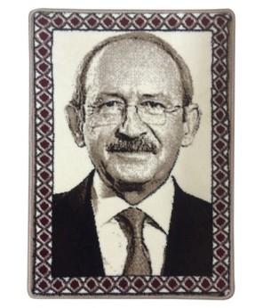 Kemal Kılıçdaroğlu Halı Portresi 50 x 70 cm. No:1