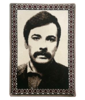 Mahir Çayan Halı Dokuma Portresi 50 x 70 cm. No:1 (mç5070no1)