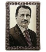 Muhsin Yazıcıoğlu Halı Dokuma Portresi 50 x 70 cm. No:1