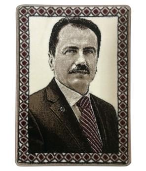 Muhsin Yazıcıoğlu Halı Dokuma Portresi 50 x 70 cm. No:1 (my5070no1)