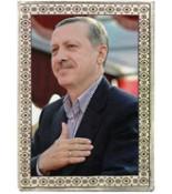 Tayyip Erdoğan Halı Portresi 50 x 70 cm. No:1