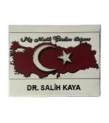 Ayyıldızlı Türkiye Haritası Halı Portresi
