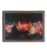 Yenikapı RTE Demokrasi Mitingi Halı Portresi 70 x 90 cm.